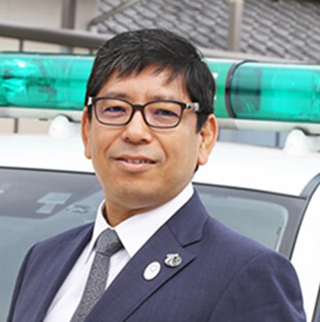 誘導車協会 会長 倉本 佳英